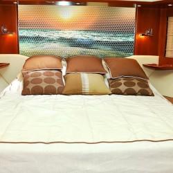 Camera da letto barca mosaico in resina