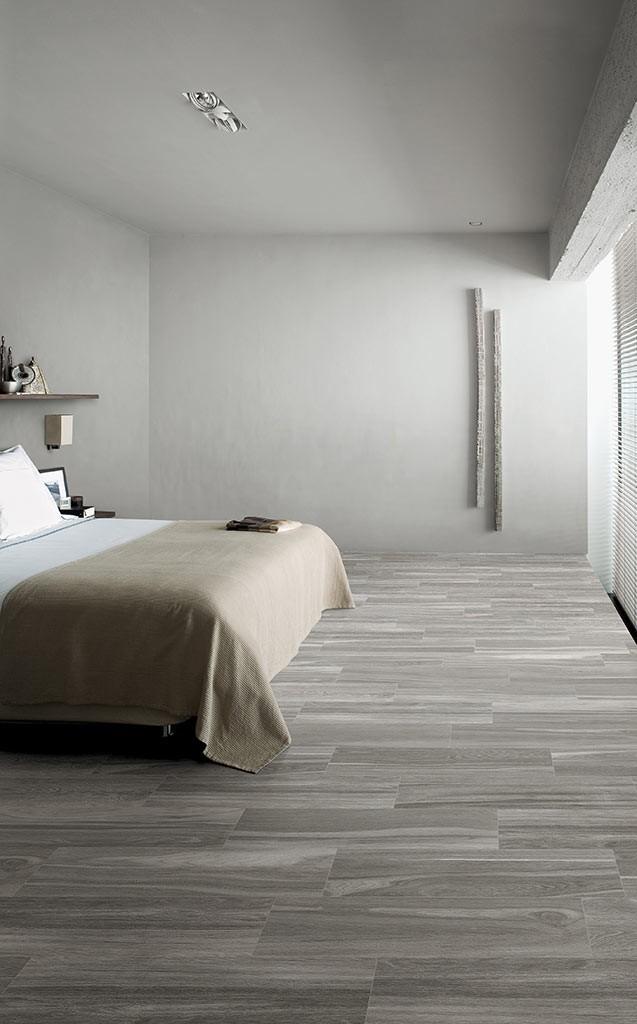 Pavimenti gres porcellanato effetto legno marmo pietra - Pavimento camera da letto ...