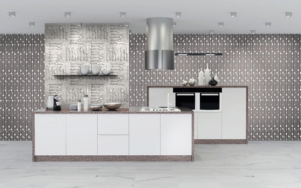 Lavabile Carta Da Parati Cucina Moderna.Carta Da Parati Moderna Dal Design Unico Materie Srl Milano