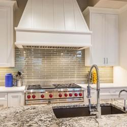 Mosaico digitale in resina in cucina