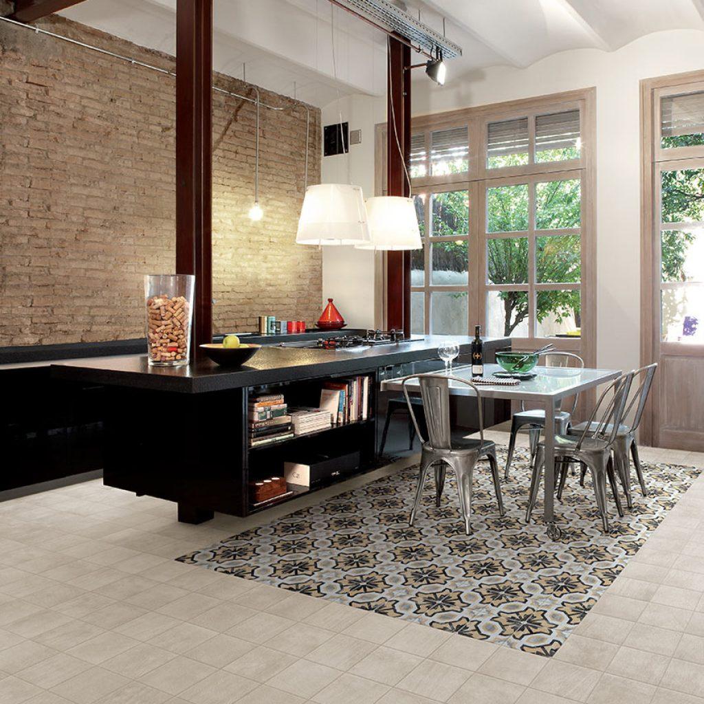 Pavimenti gres porcellanato effetto legno marmo pietra for Pavimento della cucina in stile artigiano