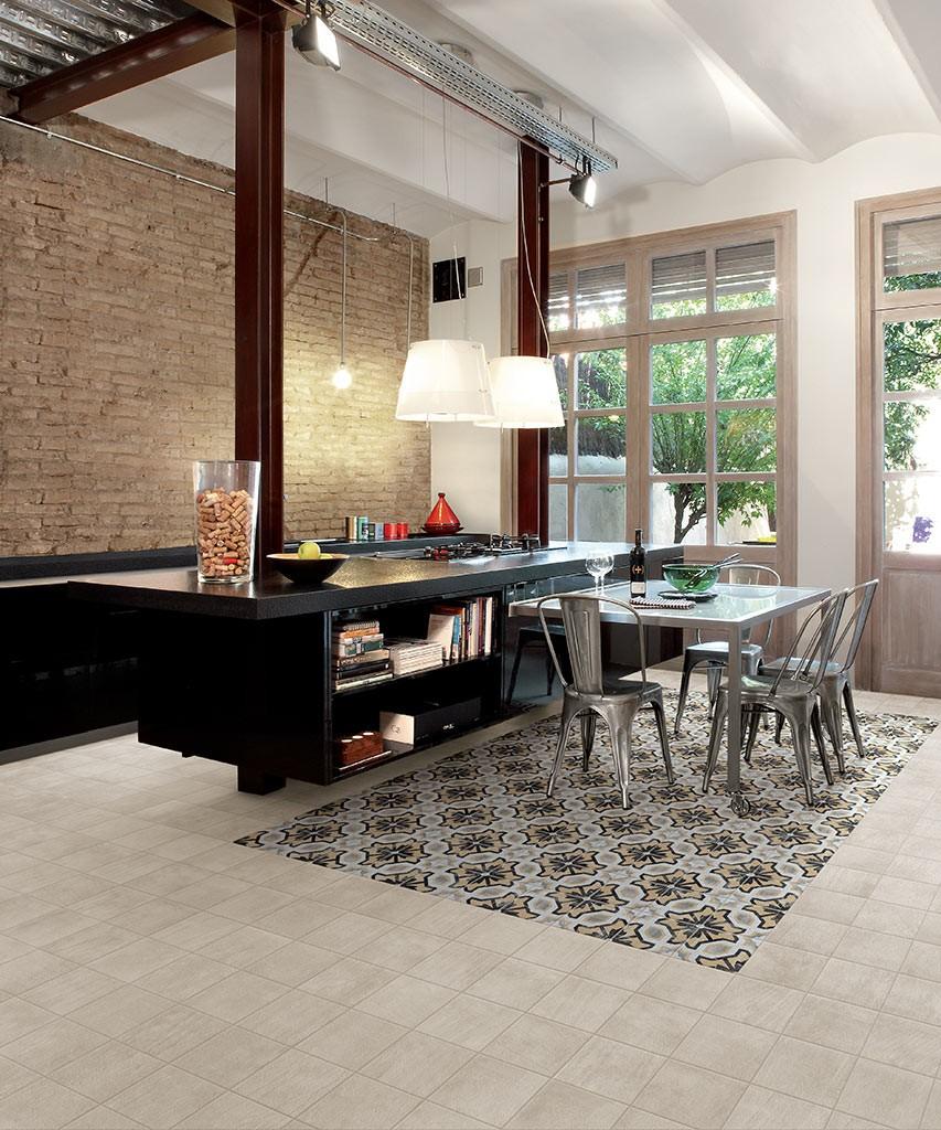 Pavimenti gres porcellanato effetto legno marmo pietra - Pavimento per cucina ...