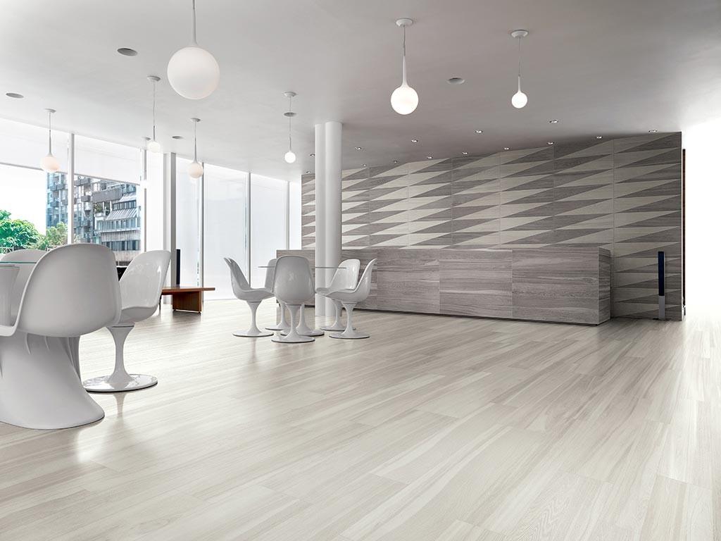 Gres Porcellanato Effetto Legno Bianco Lucido.Pavimenti Gres Porcellanato Effetto Legno Marmo Pietra