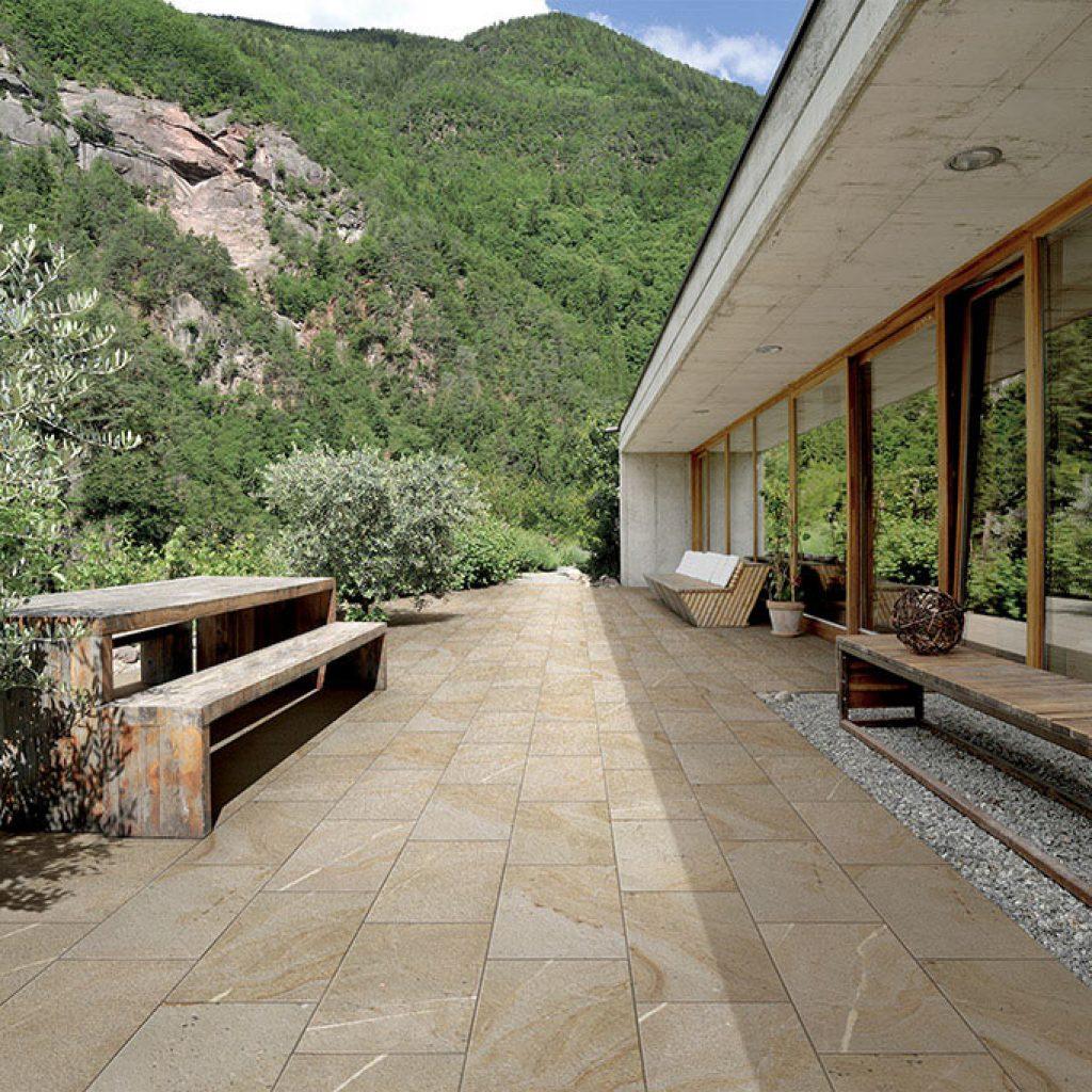 Pavimenti gres porcellanato effetto legno marmo pietra - Piastrelle per rivestimenti esterni ...