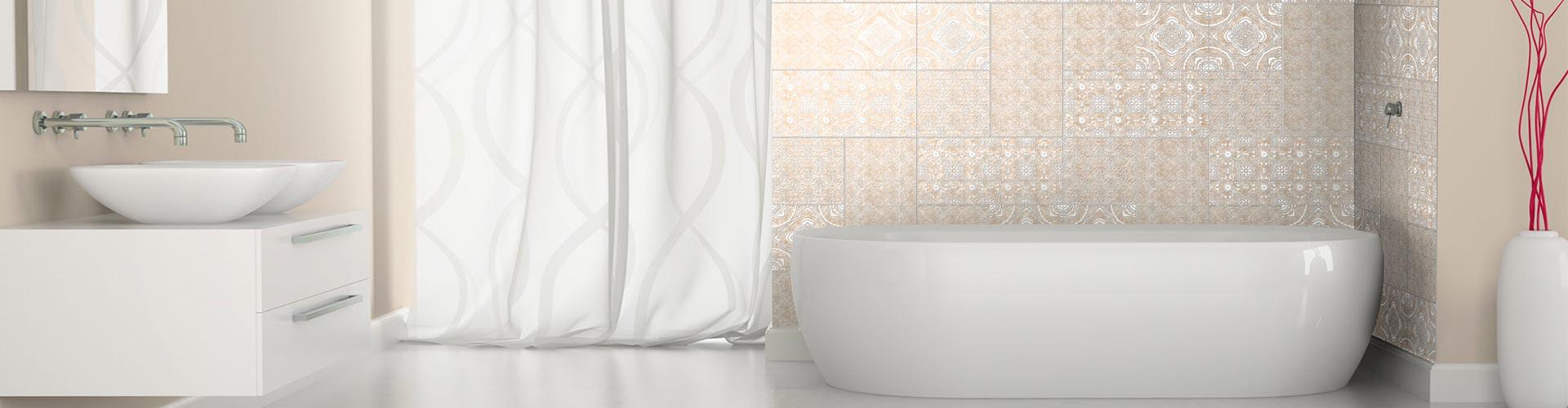 Piastrelle ceramica stampa digitale rivestimento bagno