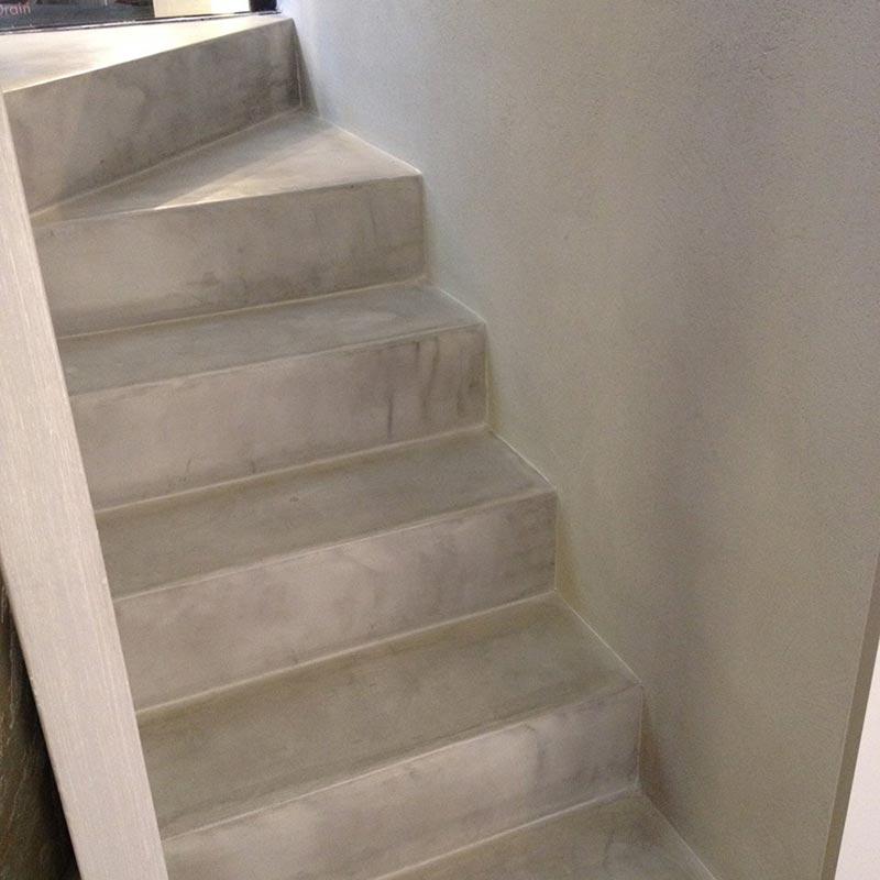 Bagno resina cementizia duylinh for - Pavimenti bagno in resina ...