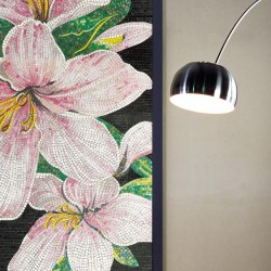 mosaico vetroso lilium