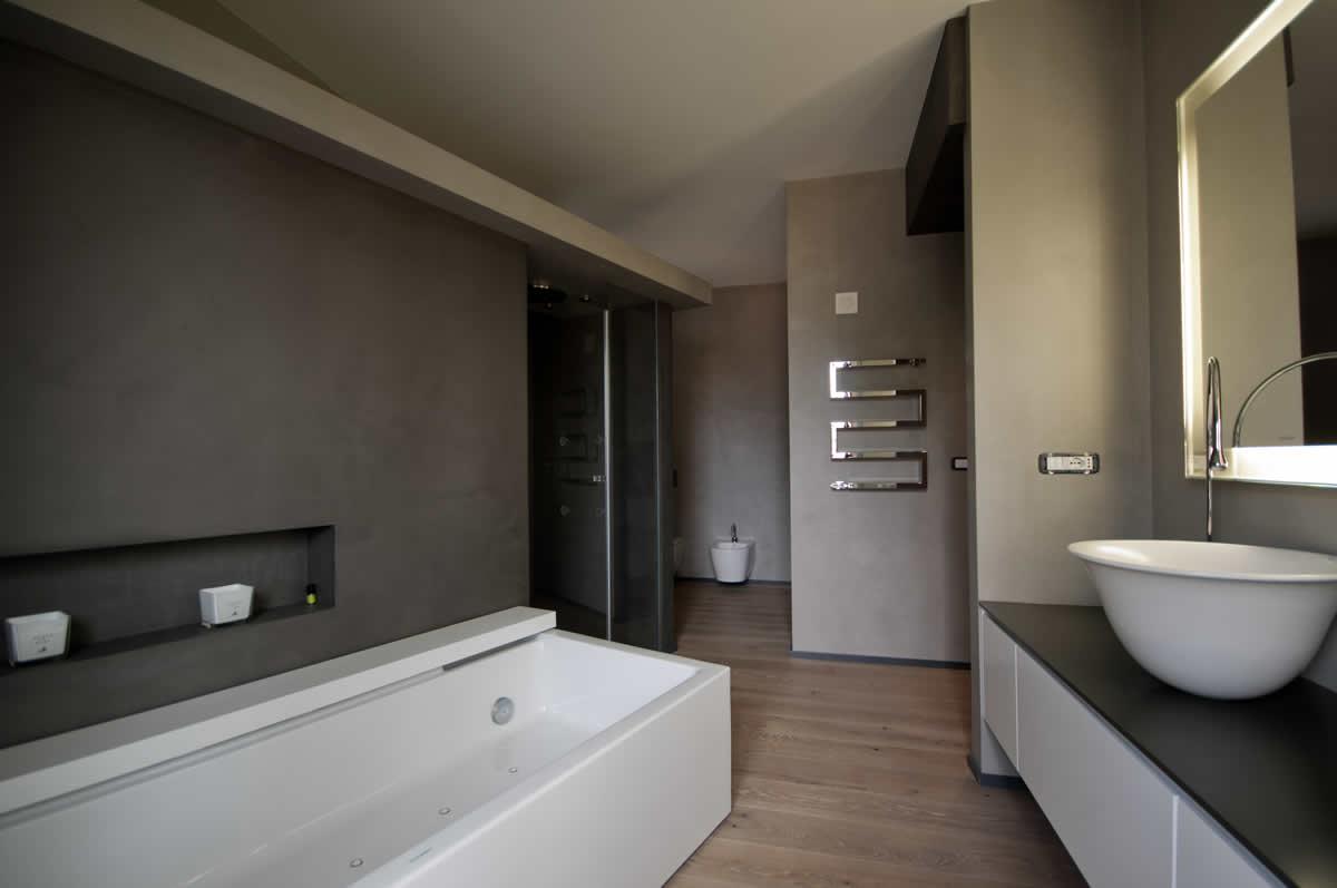 Parquet microcemento e gress porcellanato materie srl - Parquet in bagno e cucina ...