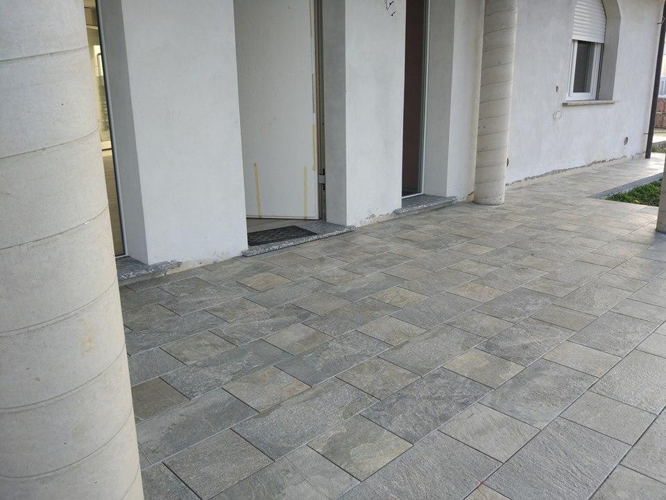 Gres porcellanato effetto pietra e legno materie srl milano - Gres porcellanato effetto legno da esterno ...