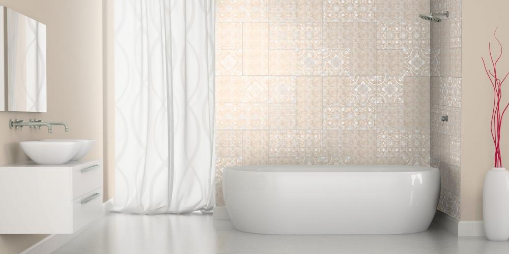 Ceramiche per pavimenti e rivestimenti materie srl - Piastrelle bagno decorate ...