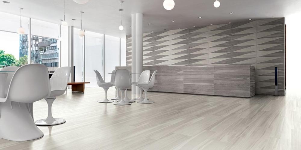 Bagno Con Pavimento Effetto Legno Beautiful Bagno Di Design Moderno
